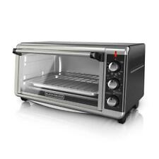 BLACK+DECKER TO3250XSB Extra Wide 8-Slice Convection Countertop Toaster Oven - …