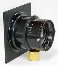 Universal-Heliar 300mm f4.5 Voigtlander Braunschweig. with Sinar Lens Board.