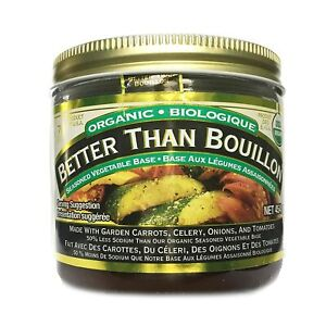 Better Than Bouillon Organic Vegetable Base 16 Oz, Reduced Original Version