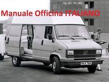 Fiat DUCATO X280 Prima serie 1° 1981/1994 Manuale Officina Riparazione ITALIANO