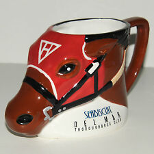 Seabiscuit Del Mar Race Track Horse Mug Ceramic Limited Edition Large Cup