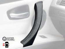 Door Handle Cover BMW 3 Series E90 E91 LEFT Passenger Side Genuine Black Leather