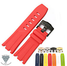 28mm Rubber Band Straps For AP Audemars Piguet Watches With Buckle Clasp + Tools