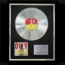 OLLY MURS NEVER BEEN BETTER CD PLATINUM DISC VINYL LP FREE SHIPPING TO U.K.
