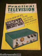 PRACTICAL TELEVISION - COMBINING BAR, PATTERN GENERATOR & ARIEL INTERCOM - JAN 1