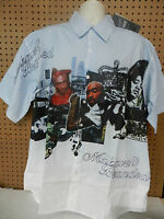 MENS TUPAC 2PAC SHAKUR MAKAVELI SHORT SLEEVE BUTTON SHIRT L XL 2XL 3XL 4XL NEW