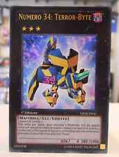 Yu Gi Oh XYZ Carta NUMERO 34 TERROR-BYTE GENF-IT041 1° Edizione ITALIANO ITA IT