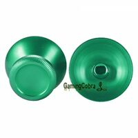 Aluminum Thumbsticks Analog Thumb Stick Button for Xbox One PS4 Controller Green