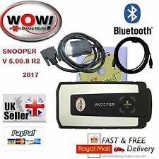 2017 WOW Snooper V5.00.8 R2 Bluetooth Diagnostic Tool for Cars and Trucks