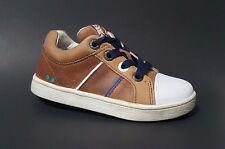 New $80 BUNNIES JR Shoes Toddler Boys LEATHER European Brown Size 9 USA/26 EURO