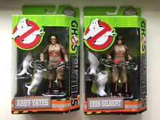Ghostbusters 2016 Figures X2 Abby + Erin With Rowan Ghost Parts Sealed Mattel