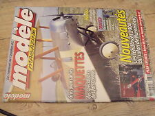 """$$ Revue modèle magazine N°630 Plan encarté """"Bristol M1.C""""  Easy Trainer 40 T"""