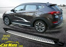 HYUNDAI  2015-19 TUCSON BMW STYLE SIDE STEPS RUNNING BOARDS  FITTING AVAILABLE
