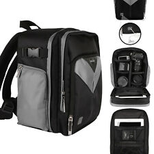 For Canon EOS Rebel T6i/750d DSLR Sparta Compact Camera Backpack Bag Case Grey