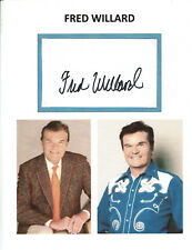 FRED WILLARD - Actor - This Is Spinal Tap / Salem's Lot - Autograph