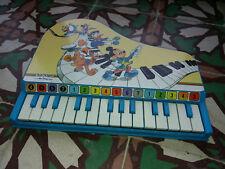 toy piano jouet vintage Bontempi par Disney - TBE