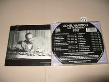 Lionel Hampton And His Orchestra 1947 cd 1998 cd is Ex+/Booklet is VG