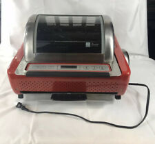 RONCO EZ STORE SHOWTIME Rotisserie BBQ Oven 5250 Stainless Red + Accessories