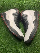 Nike Air Jordan X 10 RETRO Chicago WHITE VARSITY RED BLACK 310805-100 SZ 10