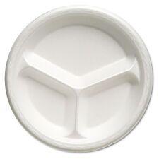 Genpak Celebrity Foam 3-Compartment Plates - 81300