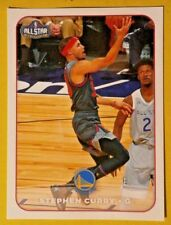 STEPHEN CURRY #378   PANINI  NBA 17/18   EUROPEAN EDITION STICKER