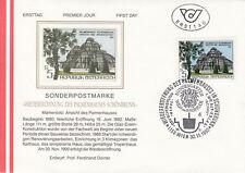 Österreich  FDC Ersttagsbrief 1990 Palmenhaus Schönbrunn Mi.2011