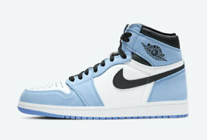 Nike Air Jordan 1 High OG University Blue 555088-134 Men/GS/PS IN HAND SHIP