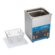 2L Lavatrice Pulitore ad Ultrasuoni Digitale Pulizia Pulitrice Heating Timer EU