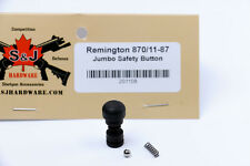 S&J Hardware Tactical Oversize Safety Button for Remington 870 H&R Pardner Pump