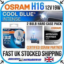 OSRAM H16 COOL BLUE FOG LIGHT BULBS FOR RENAULT MEGANE III Hatch 2.0 CVT 02.09-
