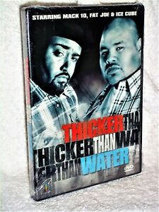 Thicker Than Water (DVD, 2000) Mack 10 Fat Joe Ice Cube rival inner city gangs
