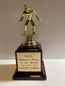 Connor Barwin NFL Defensive Player Of The Year 2014 Award Philadelphia Eagles