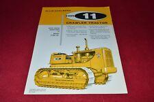 Allis Chalmers HD-11 Crawler Tractor Dealers Brochure YABE14 ver12