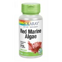Red Marine Algae 100 Caps 375 mg by Solaray