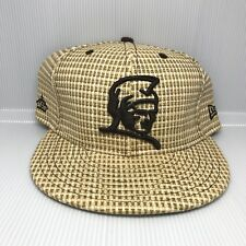 Fitted Hawaii Mua New Era 59fifty Hat Cap Lauhala Kam Satin Lining 7 5/8 Rare