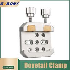 Enhanced Vixen Dovetail Clamp 2 Brass Screw W/ Locking Screw Astronomy Telescope