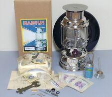 Vintage Radius 119 Lantern Military Stove Top Version Camping Rare