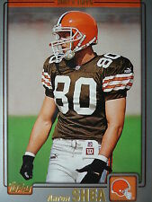 NFL 152 Aaron Shea Cleveland Browns Topps 2001