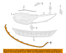 Lincoln FORD OEM 13-16 MKZ Front Bumper Grille-Lower Molding Trim DP5Z8419AA