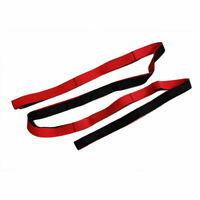10 Loop Yoga Strap Belt Stretch Training Body  Exercise Stretching UK Seller