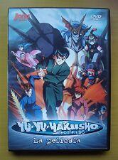 Yu Yu Hakusho Ghostfiles - La película (DVD, Jonu Media)