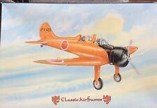 Classic Airframes 1:48 Mitsubishi A5M4K Claude Plastic Aircraft Model Kit #438