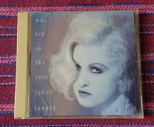 Cyndi  Lauper ~ Who Let Me In The Rain ( US Press ) Cd