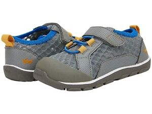 NIB See Kai Run Gray Anker Machine Washable Mesh Shoes Size 9
