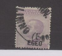 Italy EGEO Aegean 1912 50c Violet SG2 Fine Used JK2283