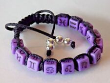 Celestial & Horoscope Adjustable Beaded Costume Bracelets
