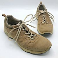 ECCO EPR 4.0 Men Brown Tan Lace Up Sneaker Shoe Size 12 EUR 45 Pre Owned