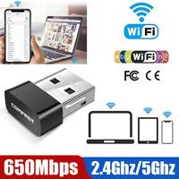 650Mbps Wireless Internet Signal Booster Wifi Range Extender USB Adapter Antenna