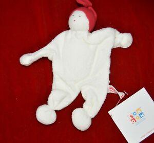 Sckoon Organic Cotton Plush Toy/Doll NEW