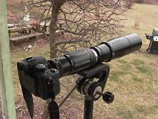 Komura 500mm F:7 Rngfdr Leica m39  m4/3 NEX A6300 A7r A7r ll Nikon Canon Pentax